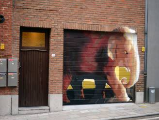 Wondermooie olifant geeft Brusselsestraat meer kleur