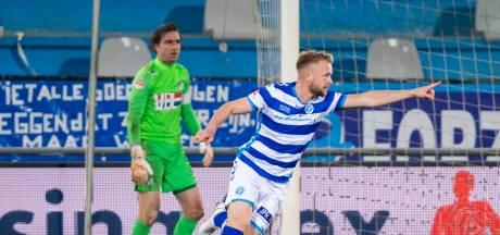 Invaller Platje redt De Graafschap tegen FC Eindhoven