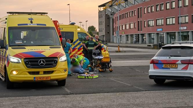 Motorrijder gewond bij val op parkeerplaats van NAC