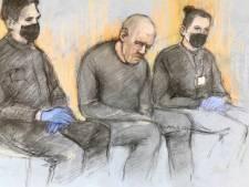 Cicatrice sur le front, le policier soupçonné du meurtre de Sarah Everard a comparu devant le tribunal
