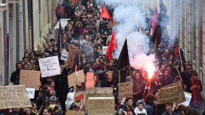 Betoging tegen regering loopt uit de hand in Montpellier: 51 arrestaties