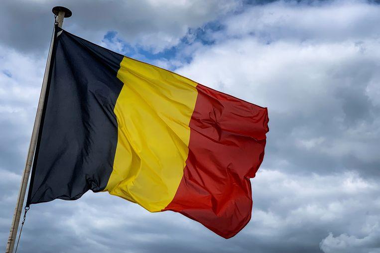 De Belgische driekleur.