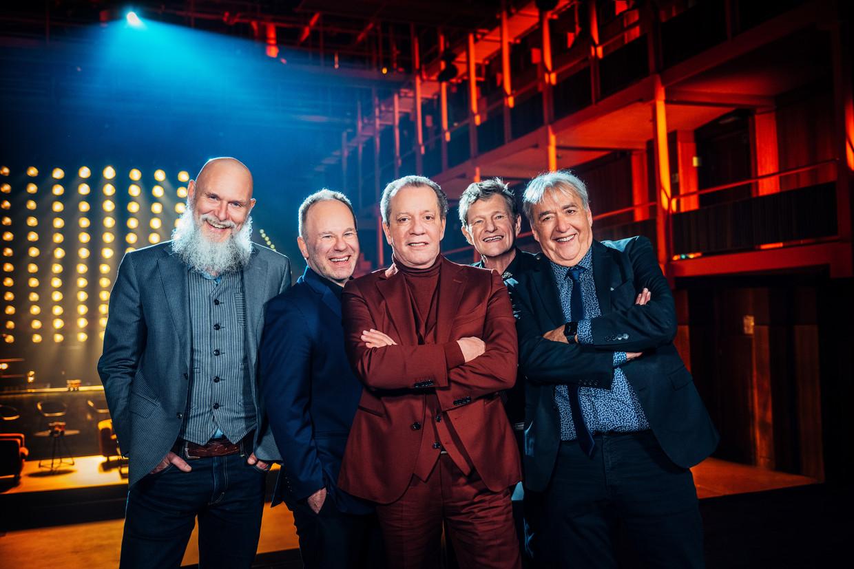 De Kreuners in 'The Best Of'. Beeld VTM