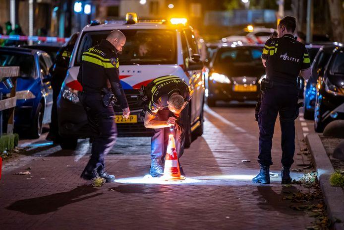 Er zijn donderdagavond schoten gelost op de Beijerlandselaan in Rotterdam-Zuid.