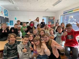 """Zesdeklassers De Lieve halen zilver op Whizzkids: """"Meteen ook beste klas van Oost-Vlaanderen"""""""