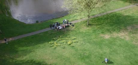 Bloemenzon Huibevenpark eert de vrijwilligers van de Reeshof