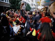 La Belgique laisse exploser sa joie après la victoire des Diables Rouges contre le Portugal