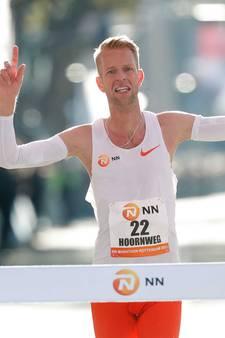 Roy Hoornweg beste Nederlander in marathon: 'Het was heel emotioneel, het overviel me een beetje'