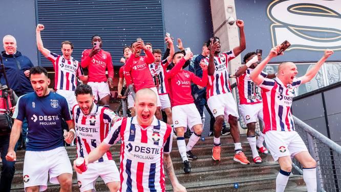 De handhaving van Willem II in beeld: wereldgoal, spanning en dolle vreugde binnen én buiten het stadion