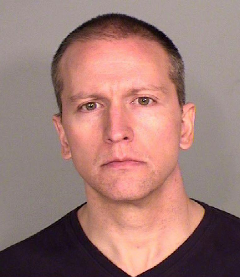 Derek Chauvin wordt verdacht van tweedegraads moord op George Floyd. Beeld AP