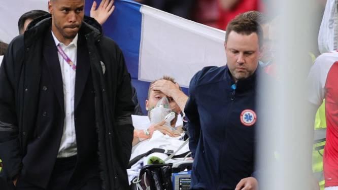 """Eriksen victime d'un grave malaise en plein match: le Danois dans un """"état stable"""""""