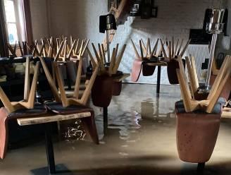 """Restaurant Tommenmolen opnieuw onder water: """"Schoonmaak wordt race tegen klok, want zaterdag trouwfeest gepland"""""""
