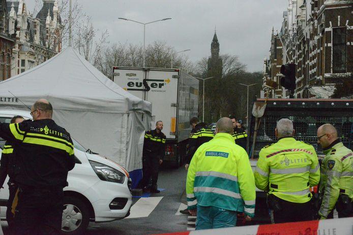 Dodelijk ongeval Groot Hertoginnelaan Waldeck Pyrmontkade