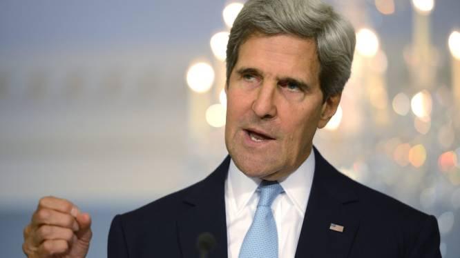 Kerry: zenuwgas sarin gebruikt in Syrië