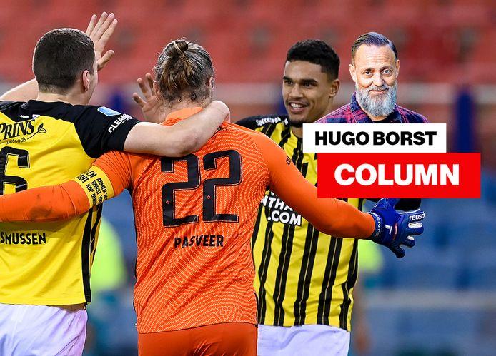 Vitsse _ column van Hugo Borst.