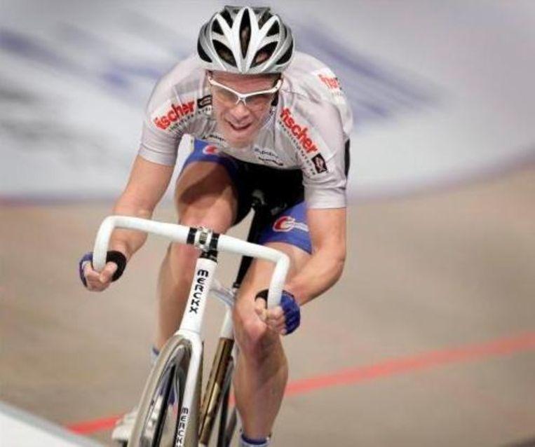 Keisse werd derde samen met zijn Nederlandse partner Stam. Beeld UNKNOWN