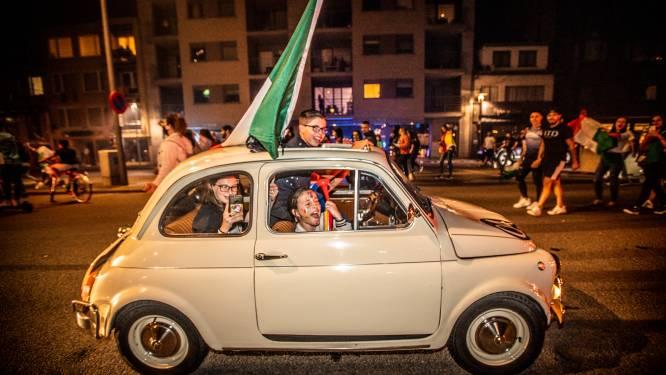 Genk ontploft: Limburgse Italianen zetten centrum op zijn kop, in Brussel wordt waterkanon ingezet