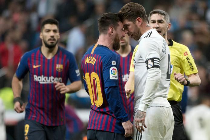 Ramos vs Lionel Messi.