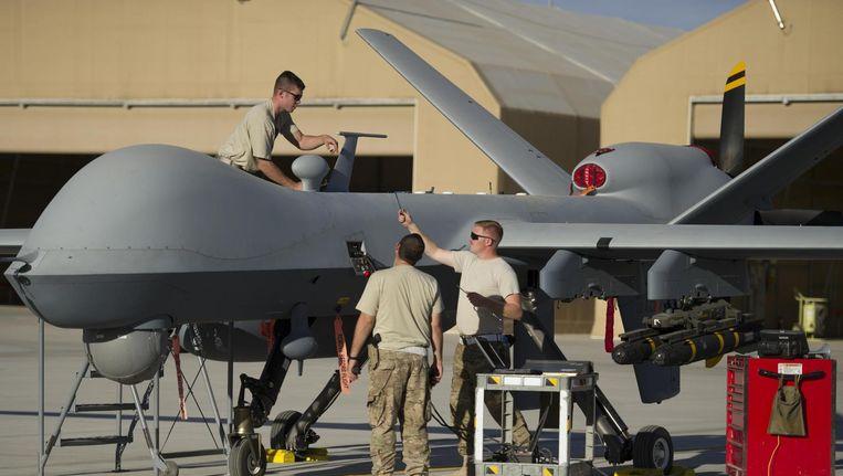 Qua drone-technologie lopen de VS en Israël nu ver voor, vergeleken met Europa. Beeld US Air Force