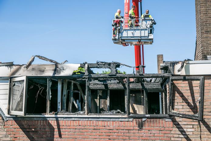 De brand in Nijmegen heeft veel schade aangericht.