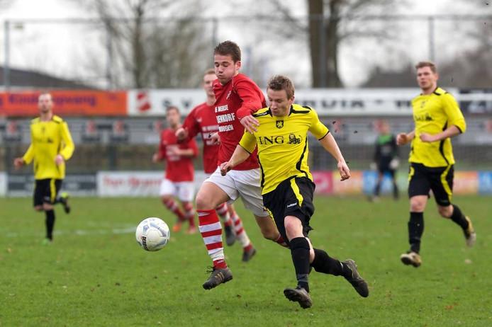 Concordia Wehl speelt zondag de derby tegen Babberich. Foto: Jan van den Brink