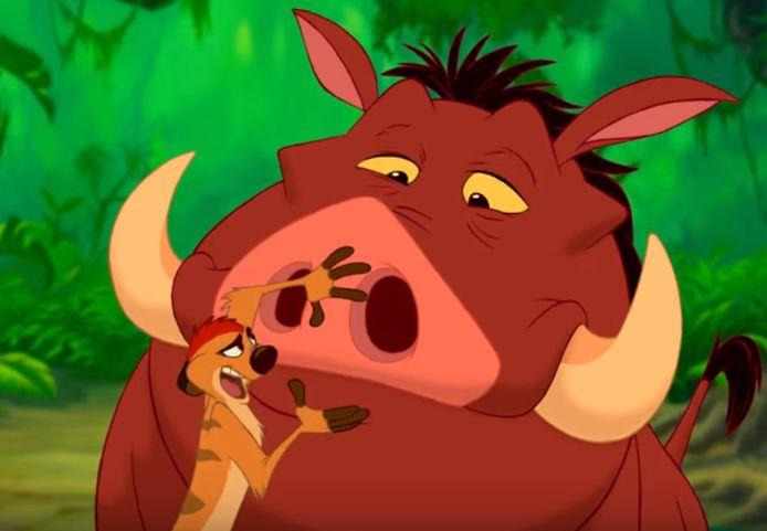 Scène uit The Lion King