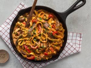 Wat Eten We Vandaag: Pasta stroganoff