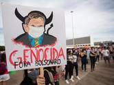 Tienduizenden Brazilianen demonstreren tegen corona-aanpak Bolsonaro