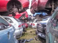 Vader en zoon runnen in Zwolle 'stripfabriek' van gestolen auto's: 'Rotte appels van de branche'
