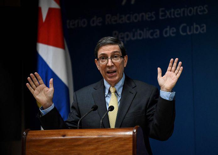 Bruno Rodriguez, de Cubaanse minister van Buitenlandse Zaken