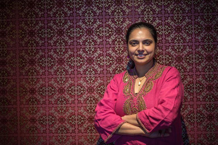 De Indiaas-Amerikaanse chef Maneet Chauhan Beeld Jurriaan Teulings