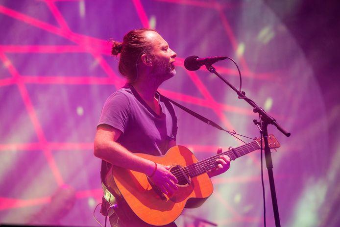 Thom Yorke van Radiohead, vorig jaar de publiekstrekker van Best Kept Secret