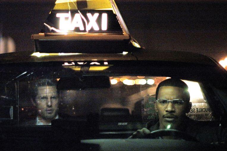 Tom Cruise en Jamie Foxx in Collateral van Michael Mann. Beeld