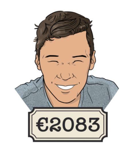 Willem (26): 'Een werkgever moet een klein stukje waardering uitspreken in geld, vind ik'