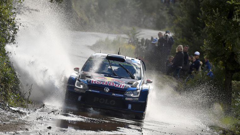 Latvala was de snelste in Corsica Beeld GETTY