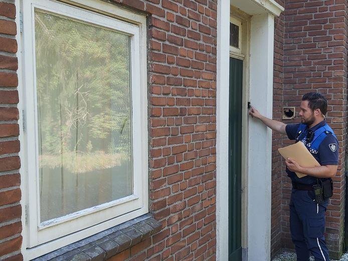 Politie en handhaving controleerden 65 panden in de gemeente Drimmelen op spookbewoning.
