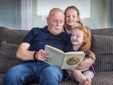 Opa Leo moest van Chloë (5) opschieten met haar boekje schrijven: 'Als je dood gaat aan cárona heb ik niks'