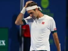 """Roger Federer renonce au tournoi de Dubaï: """"Il est préférable de retourner à l'entraînement"""""""