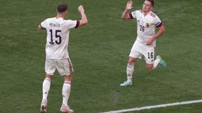 Flashback naar het WK: Martínez bidt dat wingbacks Meunier en Thorgan Hazard niets overkomt