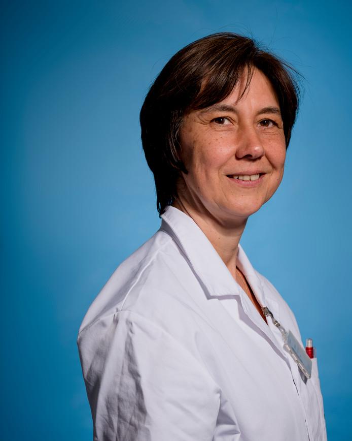 Verpleegkundige Nathalie Wittebolle.