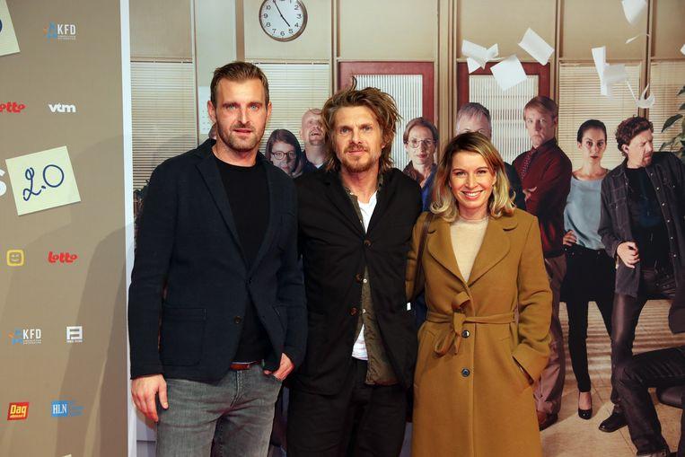 Werner De Smedt en partner Julie (en collega Kristof)