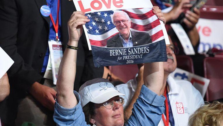 Had Bernie Sanders de verkiezingen wel gewonnen? Beeld AFP