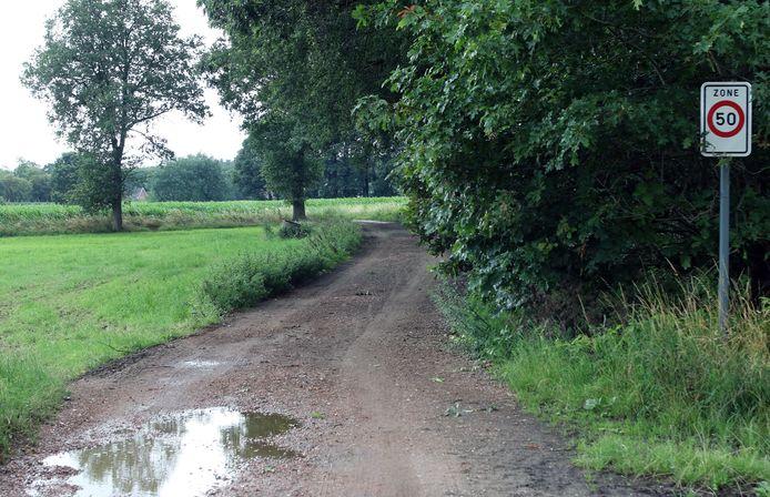 Het Bloktsepad loopt voor een groot deel over onverharde wegen