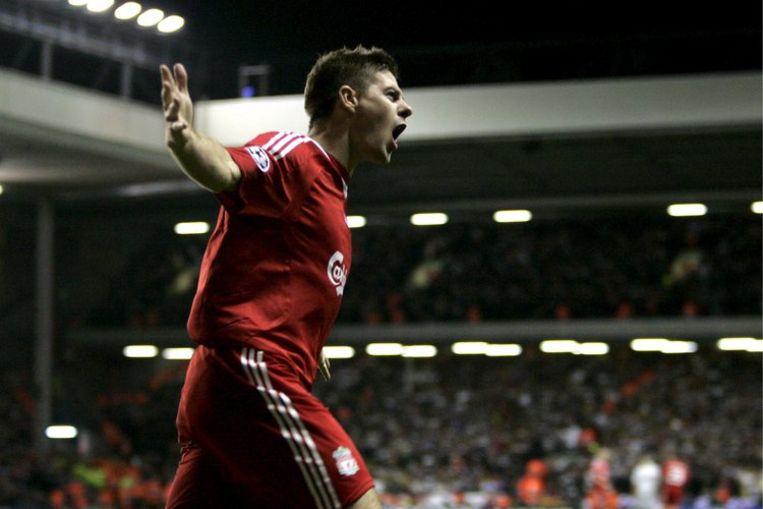 Het is al voor de vierde keer in vijf jaar dat Liverpool de kwartfinales van het toernooi om de Champions League bereikte. Foto EPA Beeld