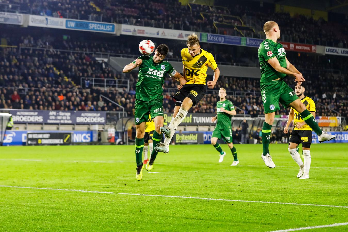 De Graafschap won vorig seizoen met 1-2 bij NAC Breda.