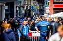 Drukte in de binnenstad van Dordrecht