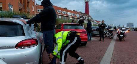 Aanhoudingen en boetes voor drugs, huftergedrag en 'herrievoertuigen' bij grote handhavingsactie Scheveningen