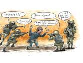 Is Hans (41) een 'slinkse terrorist' of droeg hij terecht een vuurwapen uit angst voor de 'chemische maffia'?