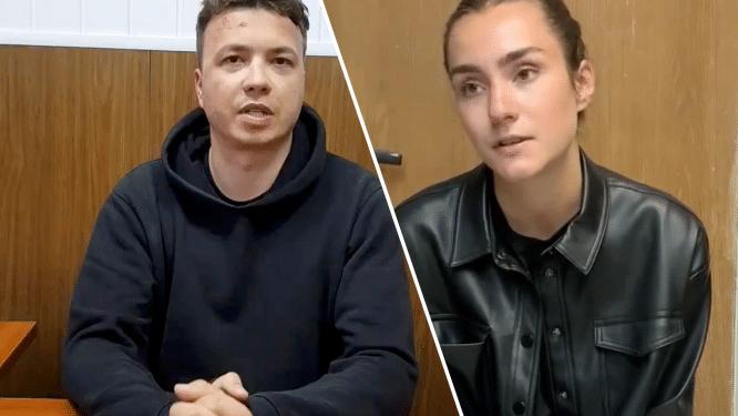 """Ouders van Wit-Russische journalist die van vliegtuig werd gehaald vrezen voor zijn leven: """"Dit is een terreurdaad"""""""
