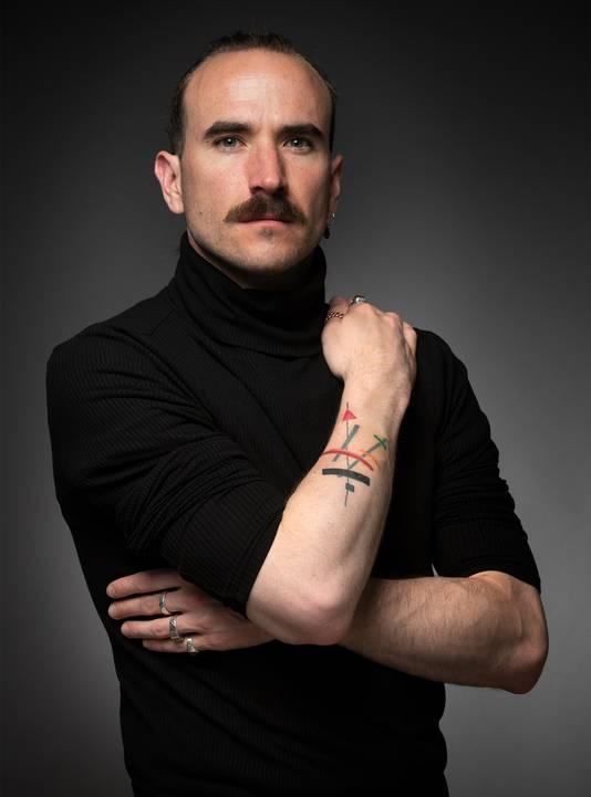 Rick Hoefsloot: ,,De discussie of je met zichtbare tattoos een nette uitstraling kan hebben, zijn we wat mij betreft wel gepasseerd.''